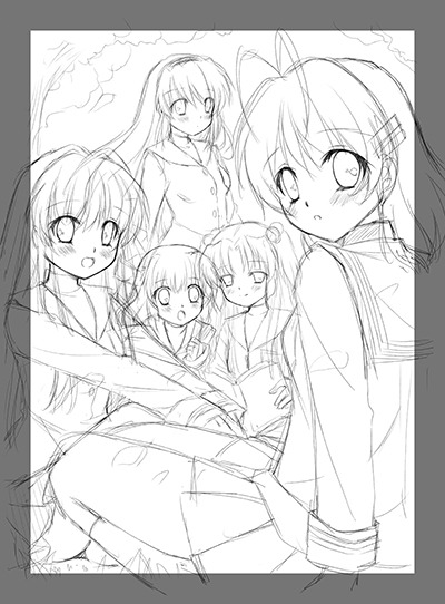 CLANNAD Kickstarter Updates: Manga Anthology Artists & Tapestry Preview!