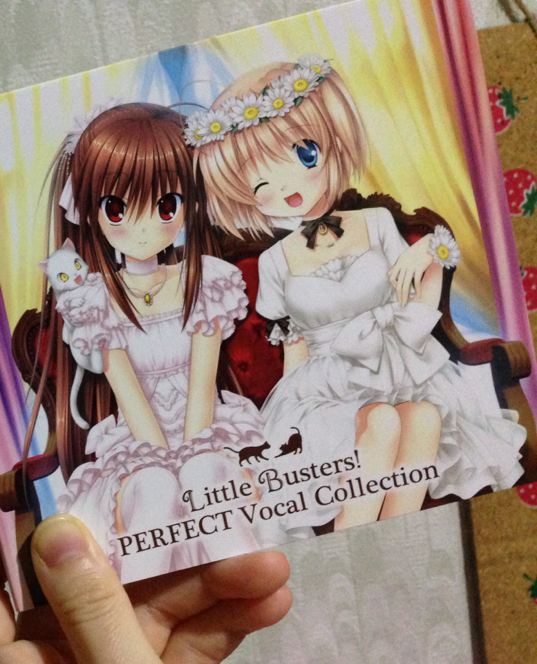 Little Busters! PERFECT Vocal Collection Released at character1