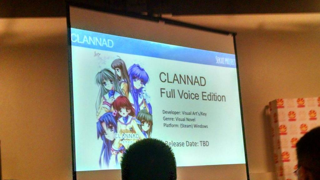 Sekai Project bringing Clannad Full Voice to Steam! + Planetarian & Angel Beats details