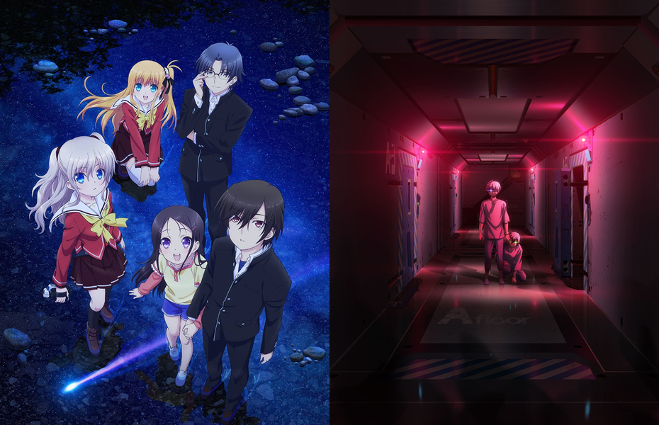Charlotte New Key Visual and Episode 1 Preview Unveiled