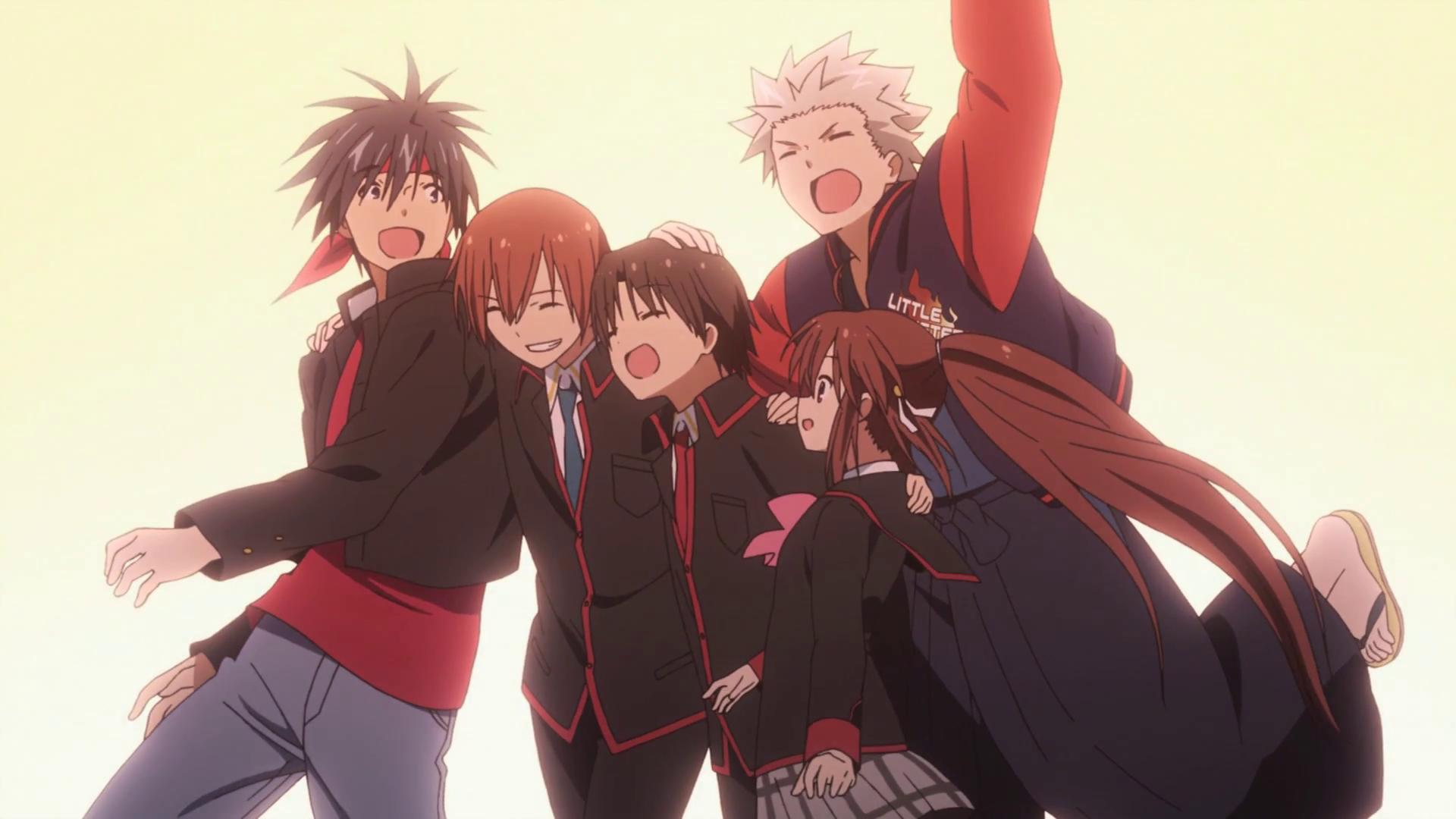 Blu-ray Boxsets Announced for Little Busters! ~Refrain~ and EX