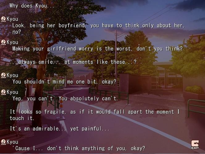 CLANNAD Quotes & Screenshots - Key Discussion - Kazamatsuri