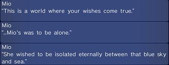 mio wish
