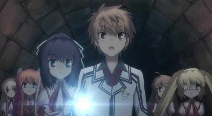 rewrite anime episode 6 occult club activity log key