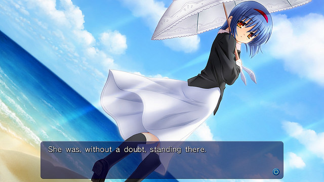 Little Busters! Mio Route Screens