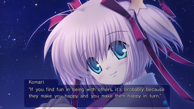 Little Busters! Komari Route Screens