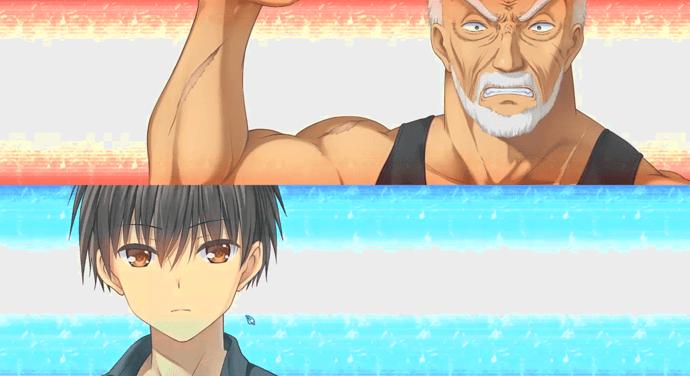 Versus Grandpa